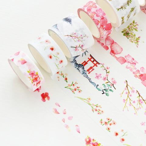 樱花小清新胶带