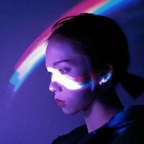 LED彩虹灯(不含电池)